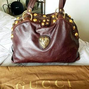 Gucci Bags - GUCCI 🐝AUTHENTIC chocolate  BABOUSKA HYSTERIA
